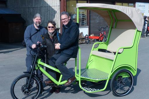 Reallabor für nachhaltige Mobilitätskultur - Die Bürger-Rikscha – Gemeinsam in Bewegung