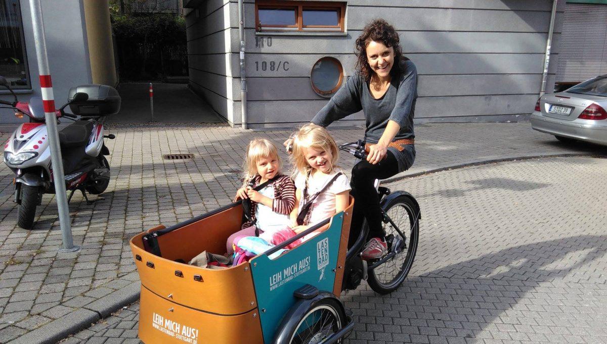Reallabor für nachhaltige Mobilitätskultur - Das rotierende Lastenrad