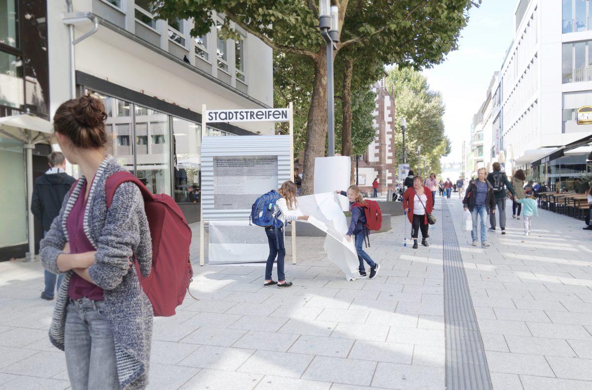 Reallabor für nachhaltige Mobilitätskultur - Stadtstreifen-Automat