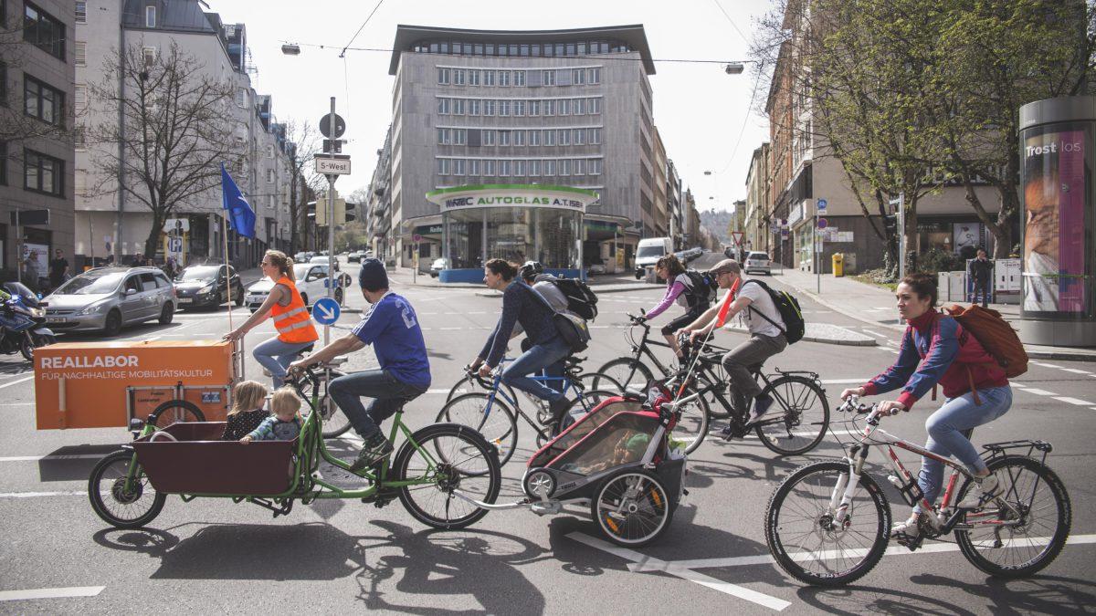 Reallabor für nachhaltige Mobilitätskultur - Stuttgart in Bewegung