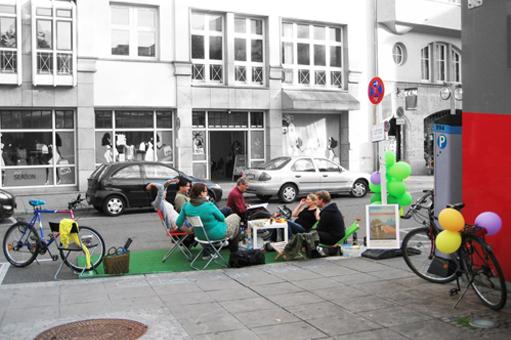 Reallabor für nachhaltige Mobilitätskultur - Park(ing) Day Stuttgart