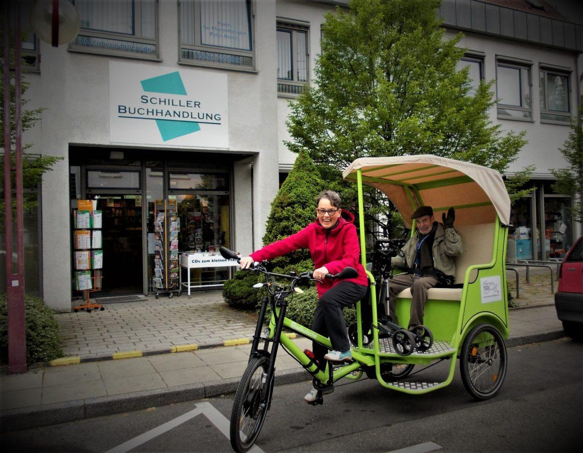 Reallabor für nachhaltige Mobilitätskultur - Die Bürger-Rikscha