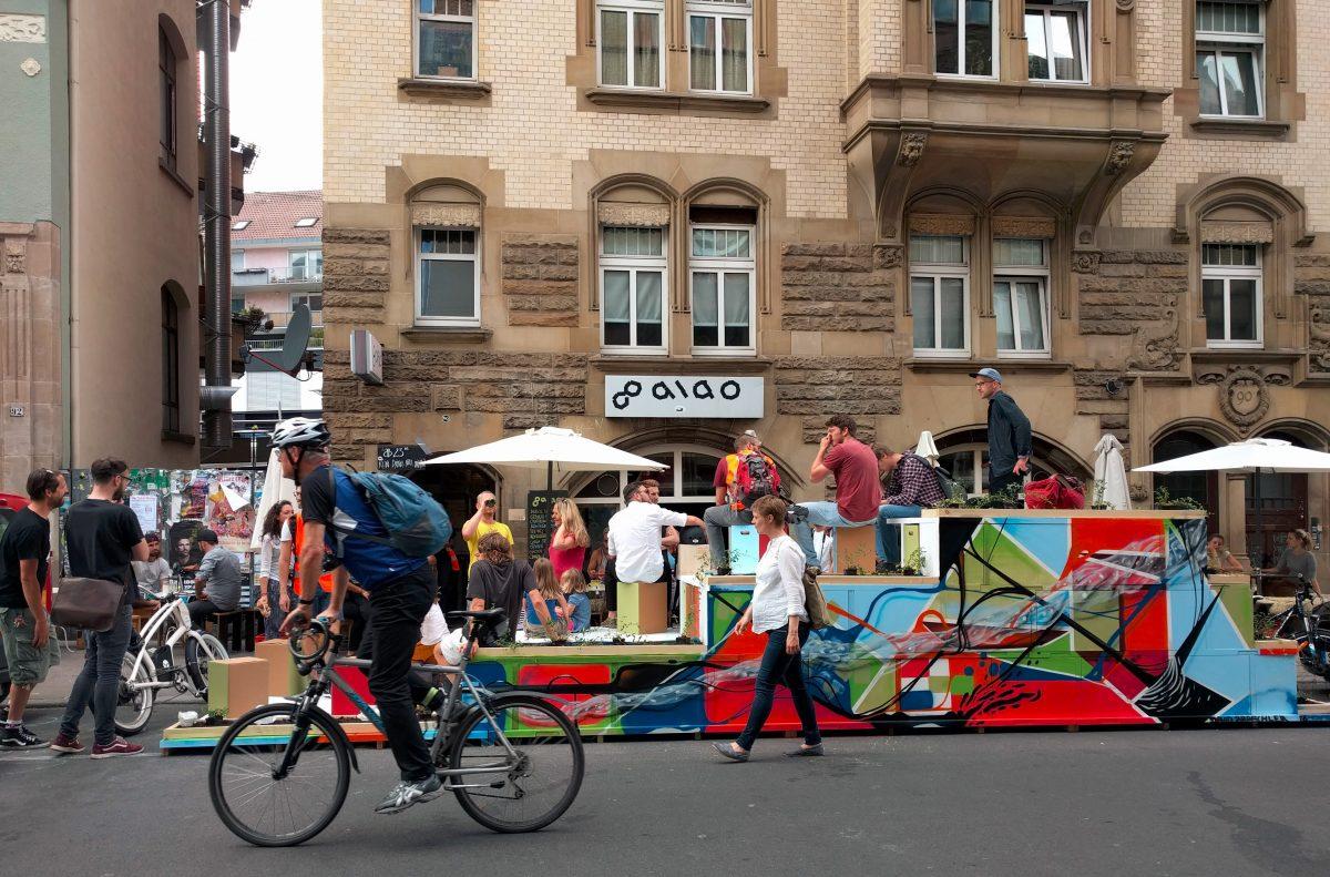 Reallabor für nachhaltige Mobilitätskultur - Parklets für Stuttgart