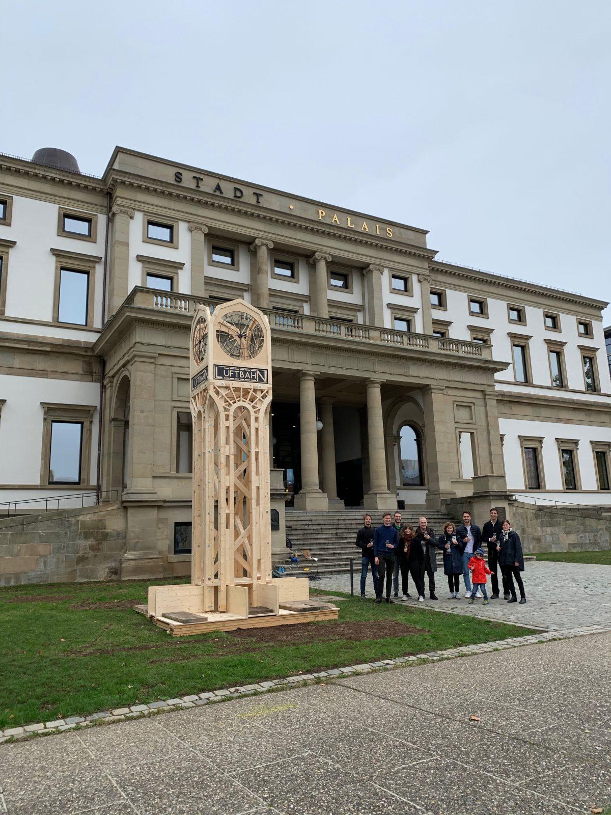 Reallabor für nachhaltige Mobilitätskultur - Stuttgarter Luftbahn